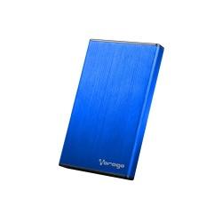 Vorago Gabinete de Disco Duro HDD-102, 2.5'', 2TB, SATA - USB 2.0, Azul