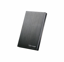 Vorago Gabinete de Disco Duro HDD-201, 2.5'', SATA, USB 3.0, Negro