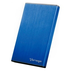 Vorago Gabinete de Disco Duro HDD-201, 2.5'', SATA, USB 3.0, Azul