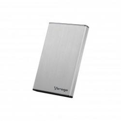 Vorago Gabinete de Disco Duro HDD-201, 2.5'', SATA, USB 3.0, Plata