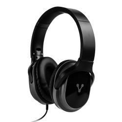 Vorago Audífonos con Micrófono HP-301, Alámbrico, 1.2 Metros, 3.5mm, Negro