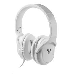 Vorago Audífonos con Micrófono HP-301, Alámbrico, 1.2 Metros, 3.5mm, Blanco