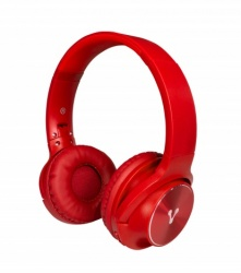 Vorago Audífonos HPB-200, Bluetooth, Inalámbrico, Rojo