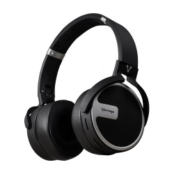 Vorago Audífonos con Micrófono HPB-201, Bluetooth, Inalámbrico/Alámbrico, 3.5mm, Negro