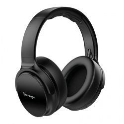 Vorago Audífonos HPB-401, Bluetooth, Inalámbrico, 3.5mm, Negro