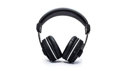 Vorago Audífonos con Micrófono HPB-600, Bluetooth 4.1+EDR, Inalámbrico, 1.2Metros, Negro