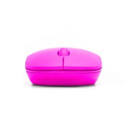 Mouse Vorago Óptico MO-205R, Inalámbrico, USB, 1000DPI, Rosa