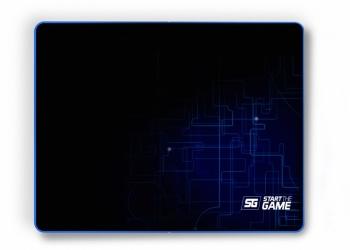Mousepad Gamer Vorago MPG-200, 35 x 44.4cm, Grosor 3mm, Negro/Azul