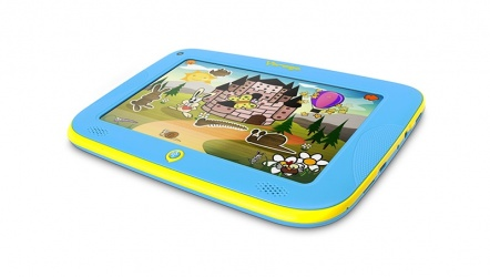 Tablet Vorago PAD 102 7'', 8 GB, 1024 x 600 Pixeles, Android 4.2, Azul/Amarillo