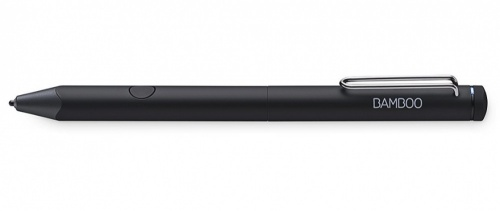 Wacom Lápiz Digital Bamboo Fineline 3 para iPad/iPhone, Negro
