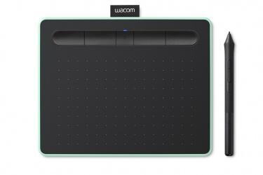 Tableta Gráfica Wacom Intous, 216 x 135mm, Inalámbrico, Negro/Turquesa