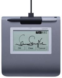 Tableta Gráfica Wacom STU-430 Signature Tablet 4.5'', Alámbrico, USB 2.0, Negro/Gris