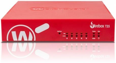 WatchGuard Router con Firewall Firebox WGT35, 940 Mbit/s, 5x RJ-45