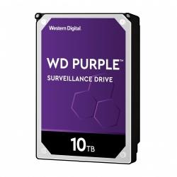 "Disco Duro Interno Western Digital WD Purple 3.5"", 10TB, SATA III, 6 Gbit/s, 7200RPM, 256MB Cache"
