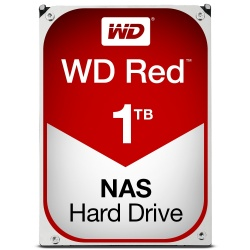 Disco Duro para NAS Western Digital WD Red 3.5'' de 1 a 8 Bahías, 1TB, SATA III, 6 Gbit/s, 64MB Cache
