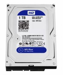 Disco Duro Interno Western Digital WD Caviar Blue 3.5'', 1TB, SATA III, 6 Gbit/s, 7200RPM, 64MB Cache