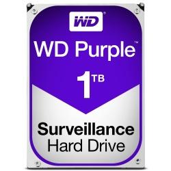 Disco Duro para Videovigilancia Western Digital Purple, 1TB, 6 Gbit/s, SATA, 64MB Cache