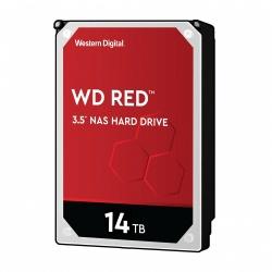 Disco Duro para NAS Western Digital WD Red de 1 a 8 Bahías, 14TB, SATA III, 6 Gbit/s, 5400RPM, 256MB Caché