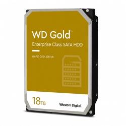 "Disco Duro Interno Western Digital WD Gold 3.5"", 18TB, SATA, 6 Gbit/s, 7200RPM, 512MB Caché"