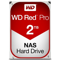 Disco Duro para NAS Western Digital WD Red Pro 3.5'' de 8 a 16 Bahías, 2TB, SATA III, 6 Gbit/s, 7200RPM, 64MB Cache