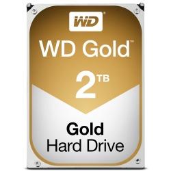 Disco Duro Interno Western Digital WD Gold 3.5'', 2TB, SATA III, 6 Gbit/s, 7200RPM, 128MB Cache