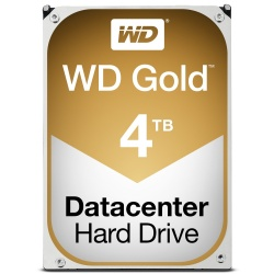 Disco Duro Interno Western Digital WD Gold 3.5'', 4TB, SATA III, 6 Gbit/s, 7200RPM, 128MB Cache - para NAS