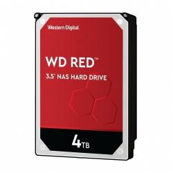 "DIsco Duro para NAS Western Digital WD Red 3.5"" de 1 a 8 Bahías, 4TB, SATA III, 6 Gbit/s, 5400RPM, 256MB Cache"