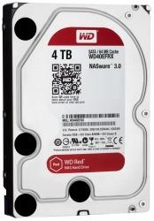 Disco Duro para NAS Western Digital WD Red 3.5'' de 1 a 8 Bahías, 4TB, SATA III, 6 Gbit/s, 64MB Cache