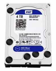 Disco Duro Interno Western Digital WD Blue 3.5'', 4TB, SATA III, 6 Gbit/s, 5400RPM, 64MB