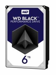 Disco Duro Interno Western Digital WD Black 3.5'', 6TB, SATA III, 6Gbit/s, 7200RPM, 256MB Caché