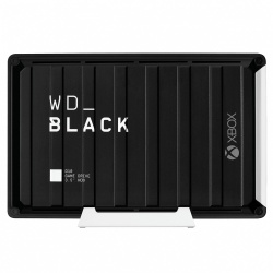 Disco Duro Externo Western Digital WD Black D10 Game Drive para Xbox One, 12TB, USB A 3.0, Negro