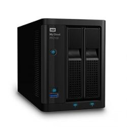 Western Digital WD My Cloud PR2100 NAS de 2 Bahías Hot Swap, 8TB, Intel Pentium N3710 1.60GHz, USB 3.0, para Mac/PC ― Incluye Discos