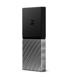 SSD Exterior Western Digital WD My Passport, 256GB, USB 3.1, Negro/Plata - para Mac/PC