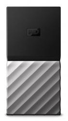SSD Exterior Western Digital WD My Passport, 512GB, USB 3.2, Negro/Plata - para Mac/PC