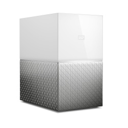 Western Digital My Cloud Home Dual Drive, 8TB, USB 3.0, Gris/Blanco - para Mac/PC/Windows/iOS
