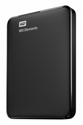 Disco Duro Externo Western Digital WD Elements Portable 2.5'', 4TB, USB, Negro - para PC