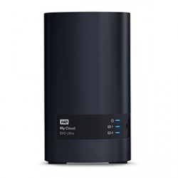 Western Digital WD My Cloud EX2 Ultra NAS de 2 Bahías Hot Swap, 4TB, Marvell Armada 385 1.30GHz, USB 3.0, para Mac/PC ― Incluye Discos