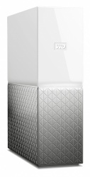 Western Digital WD My Cloud Home Single Drive, 6TB, USB 3.0, Gris/Blanco - para Mac/PC/Windows/iOS