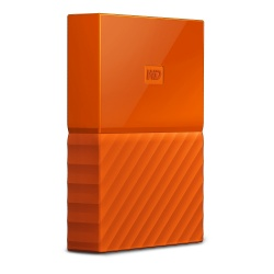 Disco Duro Externo Western Digital My Passport 2.5'', 3TB, USB 3.0 Type-A, Naranja