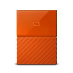 Disco Duro Externo Western Digital WD My Passport 2.5'', 1TB, USB 3.0, Naranja