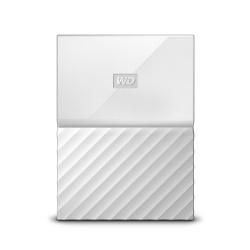 Disco Duro Externo Western Digital WD My Passport 2.5'', 1TB, USB 3.0, Blanco