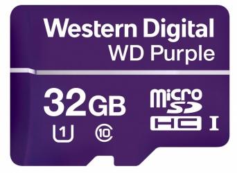 Memoria Flash Western Digital WD Purple, 32GB microSDHC, Clase 10