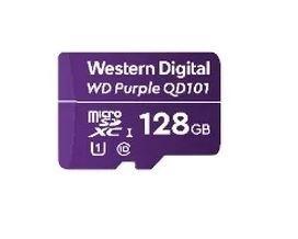 Memoria Flash Western Digital WD Purple SC QD101, 128GB MicroSDHC Clase 10