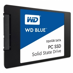 SSD Western Digital Blue, 250GB, SATA III, 2.5'', 7mm