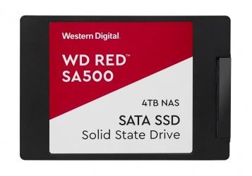 "SSD Western Digital WD Red SA500, 4TB, SATA III, 2.5"""