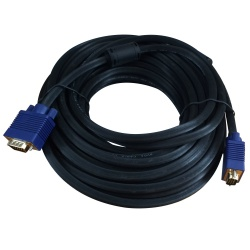 X-Case Cable VGA Macho - VGA Macho, 10 Metros, Negro