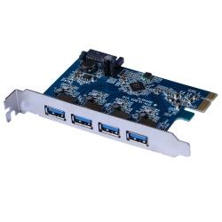 X-Media Tarjeta PCI Express XM-UB3204, 4x USB 3.0, 5 Gbit/s