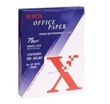 Xerox Papel Office 75g/m², Paquete de 5000 Hojas de Tamaño Carta, Azul