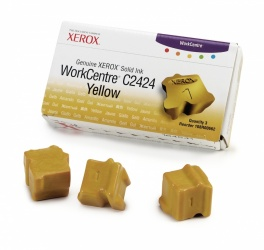 Tinta Sólida Xerox 108R00662 Amarillo, 3 Barras, 3400 Páginas