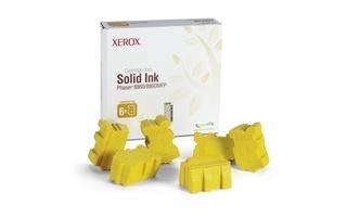 Tinta Sólida Xerox 108R00819 Amarillo, 6 Barras, 14.000 Páginas
